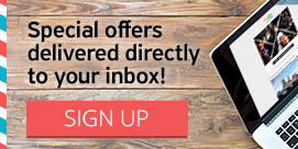 Subscribe now and find out first about our new offers!